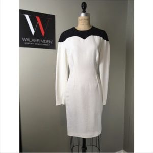 NWT Stella McCartney B/W Rayon Dress 1-138-53119